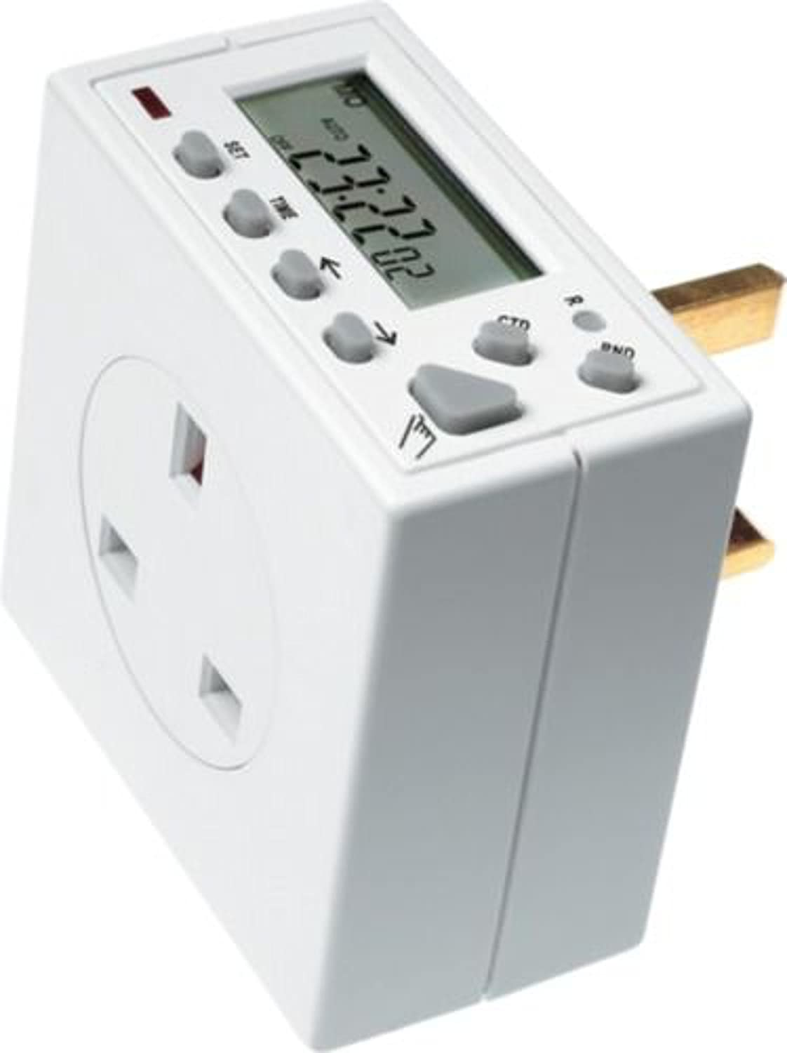 Time Guard 7 Day Plug in Electronic Timeswitch 13(2)A