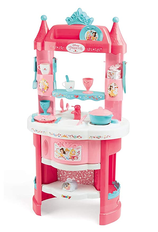 Smoby 311700 Disney Princess Kitchen – Pink