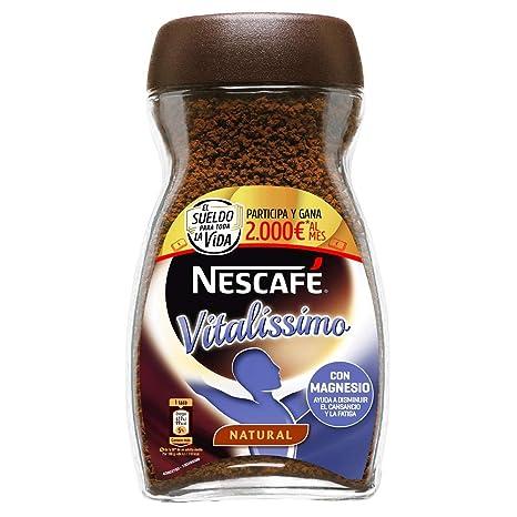 NESCAFÉ Café Vitalissimo Soluble Natural | Bote de cristal: Amazon.es: Amazon Pantry