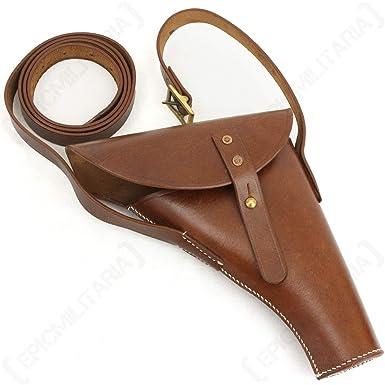 Amazon com: Epic Militaria Replica WW2 British Signals Brown Leather