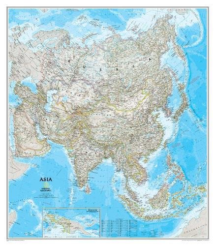 Asia Classic [Laminated] (National Geographic Reference Map)