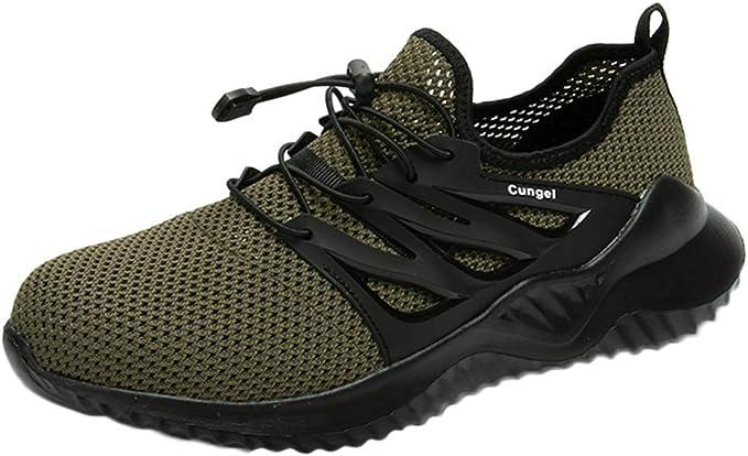Zapatos De Los Hombres Malla Transpirable Deportes Correr Zapatos ...