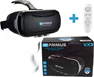 Gafas VR VR-PRIMUS VX3 + Mando | para Smartphone s p.ej. iPhone ...