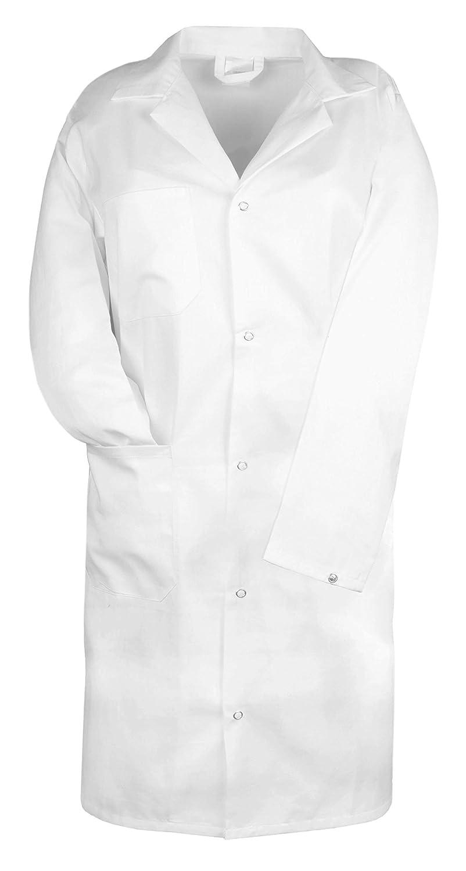 """ZOLLNER® camicia da medico / casacca per laboratorio / abito ospedaliero bianco con colletto e chiusura a bottone a pressione, per uomini, in 100% cotone, dalle misure 44 a 60 tedesche, serie """"Marcus"""" serie Marcus"""