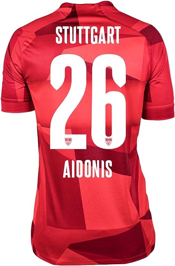 JAKO VfB Away Camiseta con Logotipo Original y número, Bebé-Niños ...