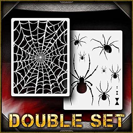 Airbrush Spider Stencil Card making Craft Stencil Animal Stencil