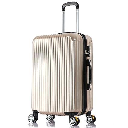 Amazon.com: L&QQ - Maleta de equipaje de viaje, carcasa ...