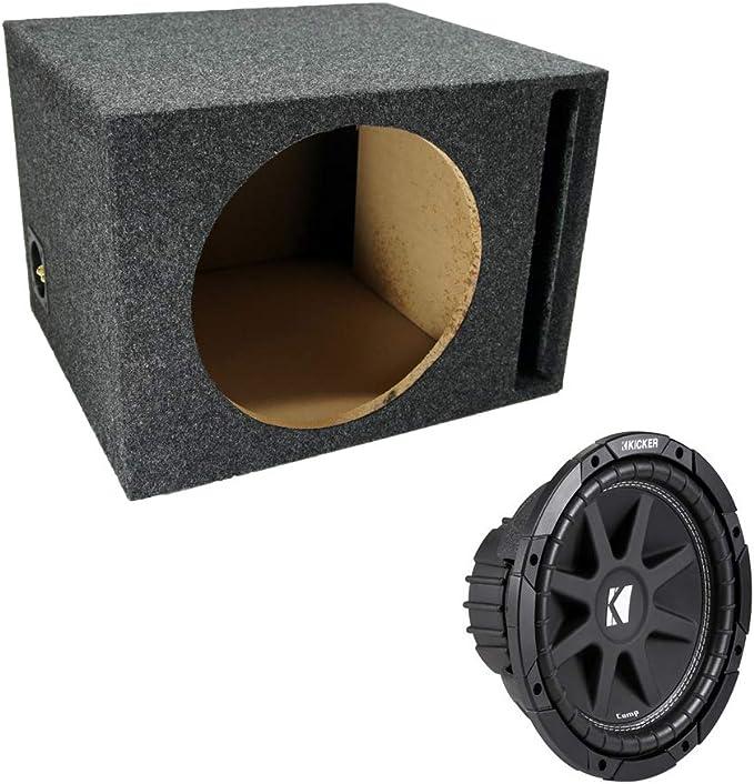 Asc Paket Single 30 5 Cm Kicker Sub Box Belüftet Port Elektronik
