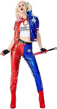 BERTHACC Disfraz De Harley Quinn - Idea De Regalo De Película ...