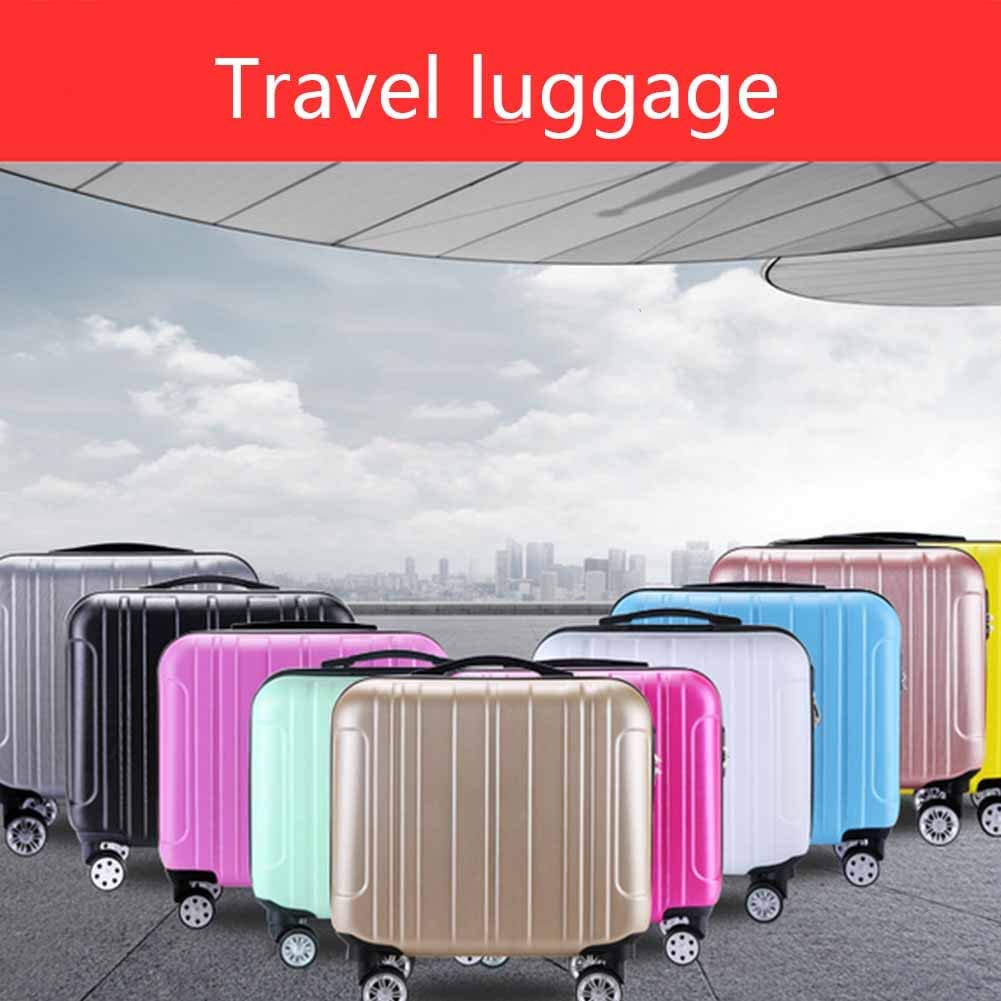 Boarding Case Abs Travel Box Childrens Trolley Case KEMANDUO Luggage Easy 360O Mobility Luggage Box Travel Rolling Luggage