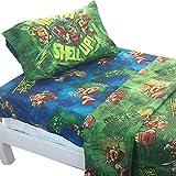 ninja bedding twin - Teenage Mutant Ninja Turtles Shell Up 3pc Twin Bed Sheet Set