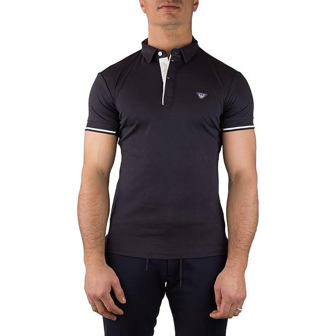 Armani Jeans - Polo - para Hombre Turquesa S: Amazon.es: Ropa y ...