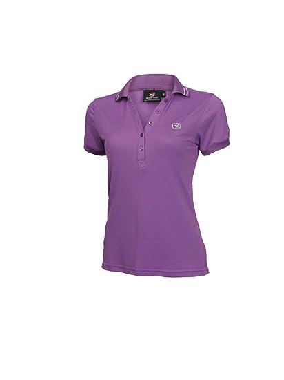 699ebbc27824ff Wilson Staff Damen Golf Polo Authentic, Orchid, L: Amazon.de: Sport ...