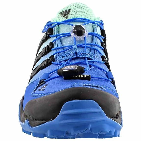 buy popular 91865 fe3cd Adidas Terrex Swift R GTX Shoe - Women s Ray Blue Black Ice Green 9.5 B(M)  US  Amazon.in  Shoes   Handbags