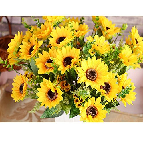 Silk Sunflowers - 2