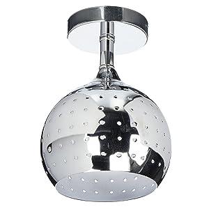 ZEEFO Mini Led Ceiling Light, Energy Saving Dome Lamp