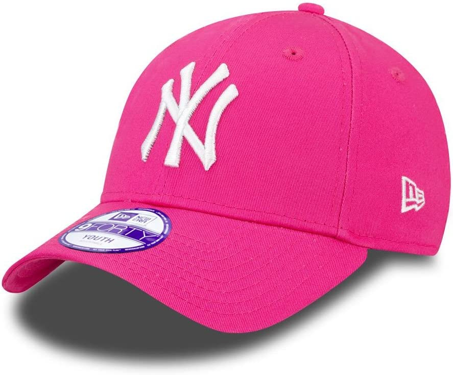 New Era 9forty Strapback Children Young Cap Mlb New York Yankees Various Colours Pink 2554 Child 52 53cm Amazon Co Uk Sports Outdoors