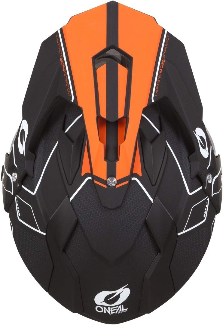 Farbe Schwarz Orange Gr/ö/ße S 0817 ONeal Sierra II Comb Motocross Motorrad Helm MX Enduro Trail Quad Cross Offroad Gel/ände