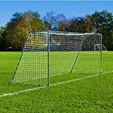 FORZA Steel42 Soccer Goal (Choose Your Goal Size) - Solidify Your Soccer Skills with This Lightweight Steel Soccer Goal [Net World Sports]