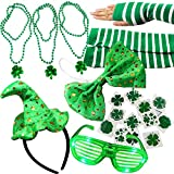 Joyin Toy 20 Pieces Girl's St. Patrick's Day Dressing-up Accessories Party Favors