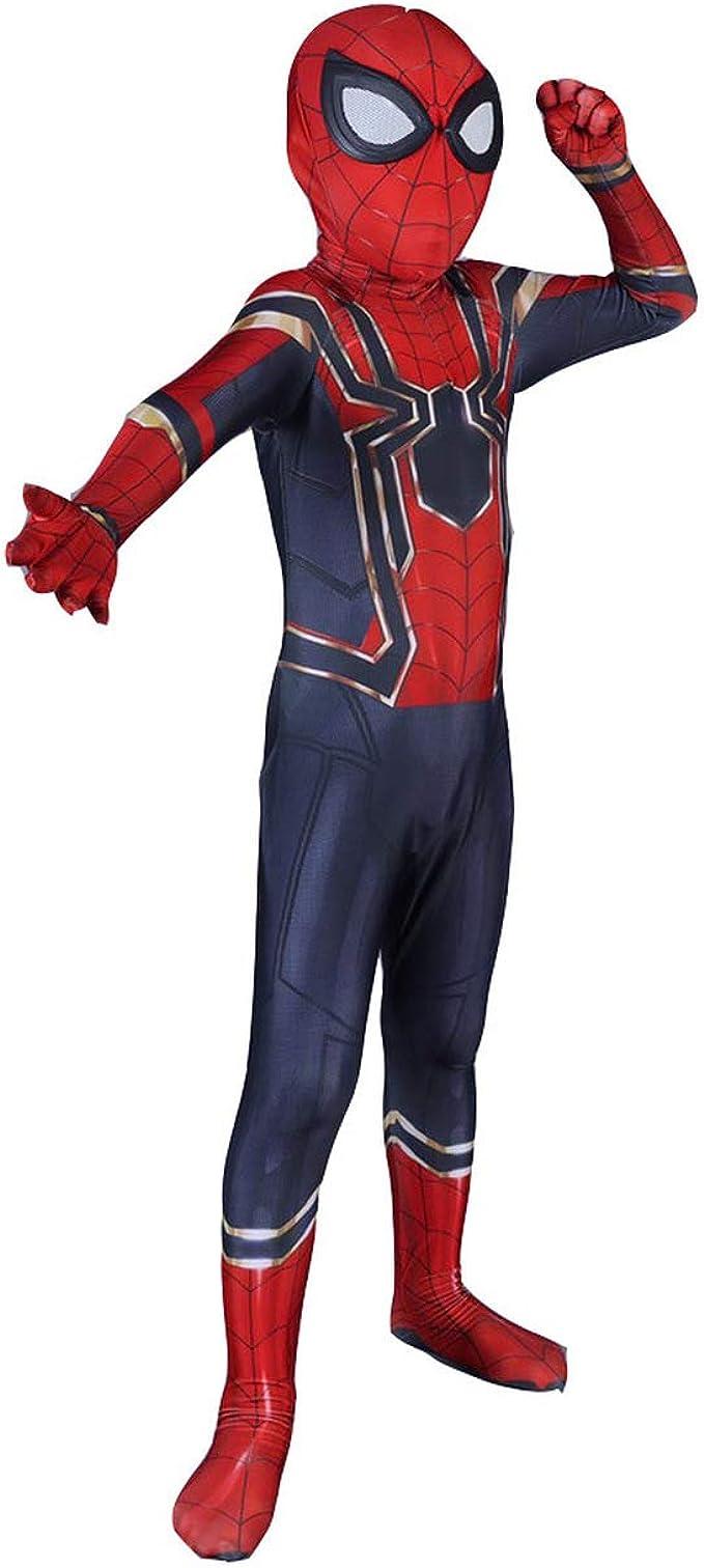 Cosplay Disfraz Avengers Iron Spider-Man - Niños (L Tamaño ...
