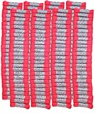 FootGalaxy High Quality Laces Bulk Packs (40'' -  200 Pair, Neon-Pink)