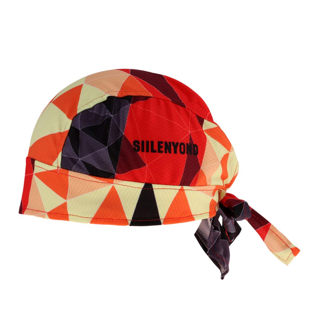 Baoblaze Gorra de Ciclismo Pa/ñuelo Seco R/ápido Sombrero de Bici Anti-Ultravioleta Casquillo Transpirable para Hombres Mujeres,