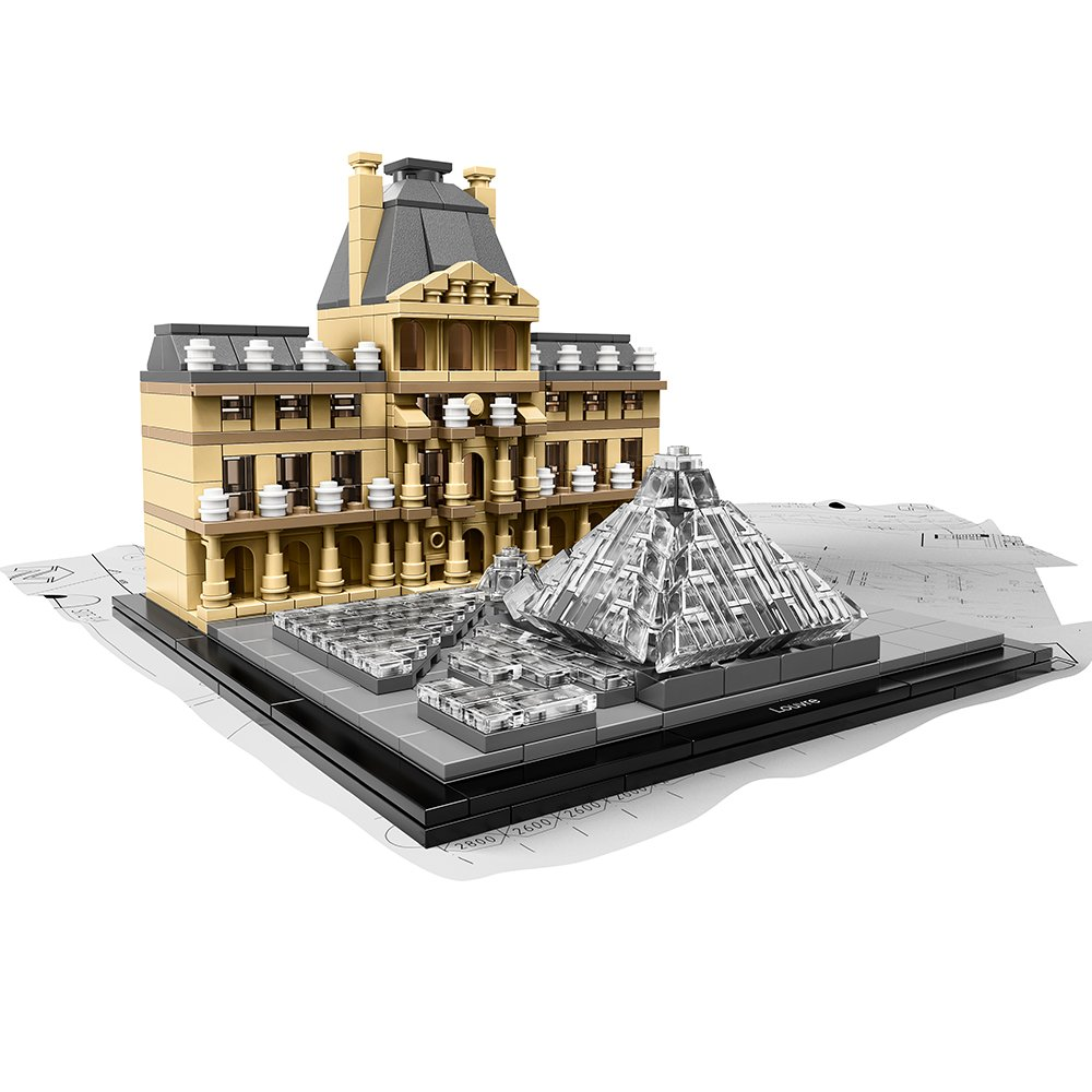 LEGO Architecture 21024 Louvre Building Kit 6101021