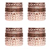 Capri Blue 11 oz Pink Grapefruit and Prosecco Gilded Muse Jar (4pk), Rose Gold, One Size