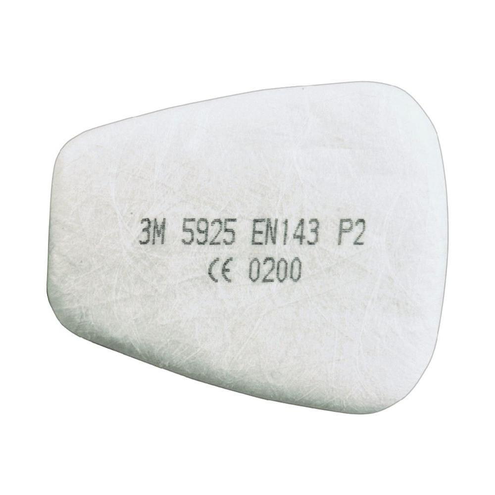 3M 5925 Particulate Filter, P2R, 1 Pair