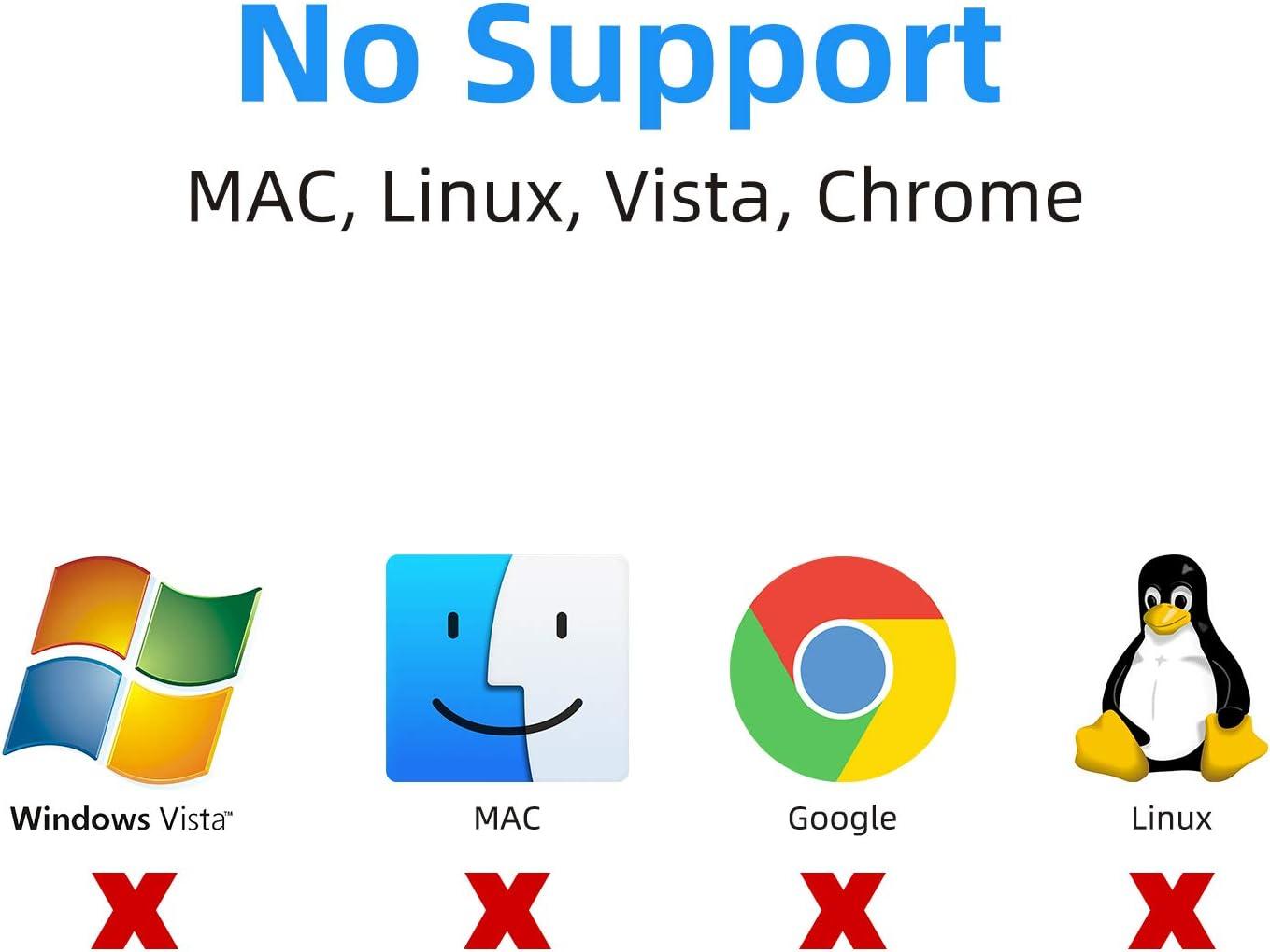 USB 3.0 zu HDMI und VGA Adapter schwarz USB zu VGA Konverter 1080P Audio kein Mac // Linux // Vista // Chrom unterst/ützt HDMI VGA Sync Ausgang f/ür Windows 7//8//10