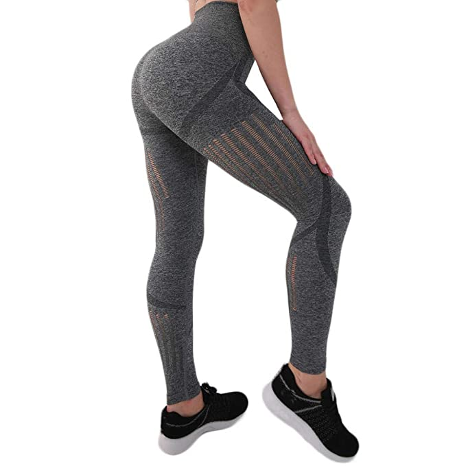 Arrangete Sexy Hip Tight Running Yoga Pants Mujeres Leggings ...
