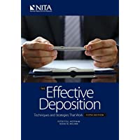 The Effective Deposition Techniques and Strategies that Work: Fifth Edition (NITA)