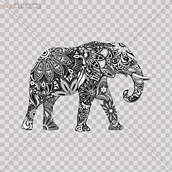 Elephant Window Decal *SEVERAL COLORS*