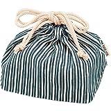日本製 HAKOYA たつみや 巾着袋 紺とくさ 5830