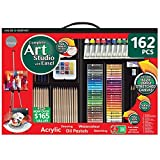 Daler-Rowney 162 Piece Art Studio with Easel