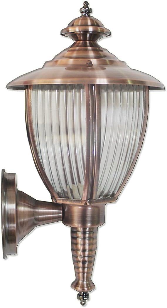 Lámpara de Pared Para Exteriores,Farol de Jardín,Aplique de Exterior,Faroles Jardin Exteriores lluminación de Seguridad al Aire libre Luz de la Pared del Patio de luz IP44 a Prueba de Agua con E27: