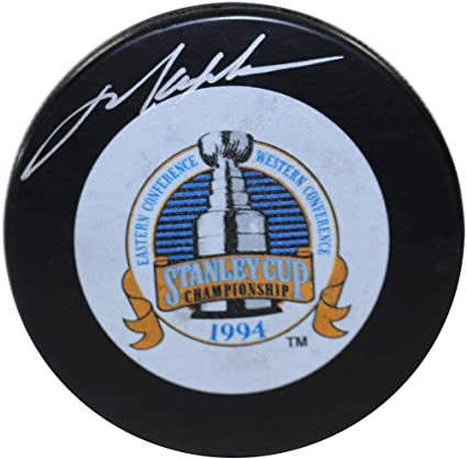 sports shoes 32b9e c7914 Mark Messier Autographed Signed 1994 Stanley Cup Puck ...