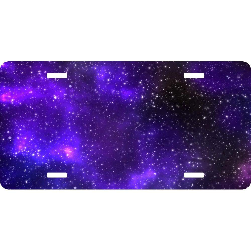 Personalized Novelty Front License Plate Decorative Vanity Aluminum Car Tag