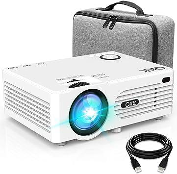 Proyector QKK 4500 Lumen Soporta 1080P Full HD, Proyector HD ...