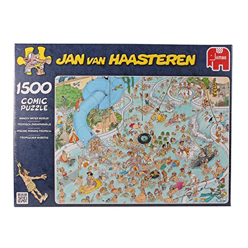 Jan Van Haasteren Whacky Water World Jigsaw Puzzle (1500 Pieces)