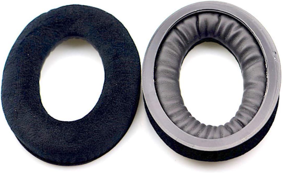 Replacement Velour Ear Pads for Sennheiser HD598 HD598SE HD598CS HD515 HD555 HD595 HD518 Headphone Velvet Black Lifreak