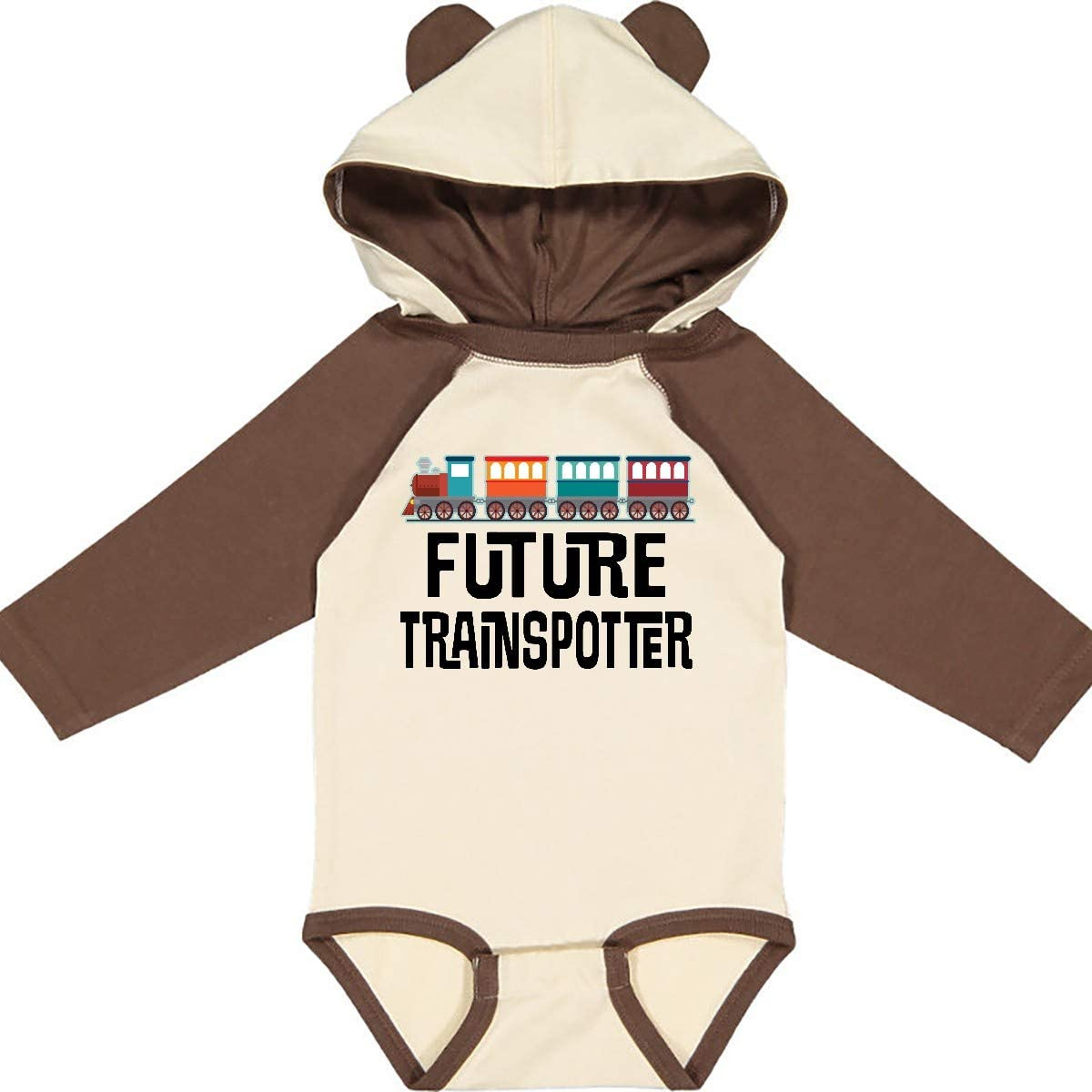 inktastic Future Trainspotter Railway Fan Long Sleeve Creeper