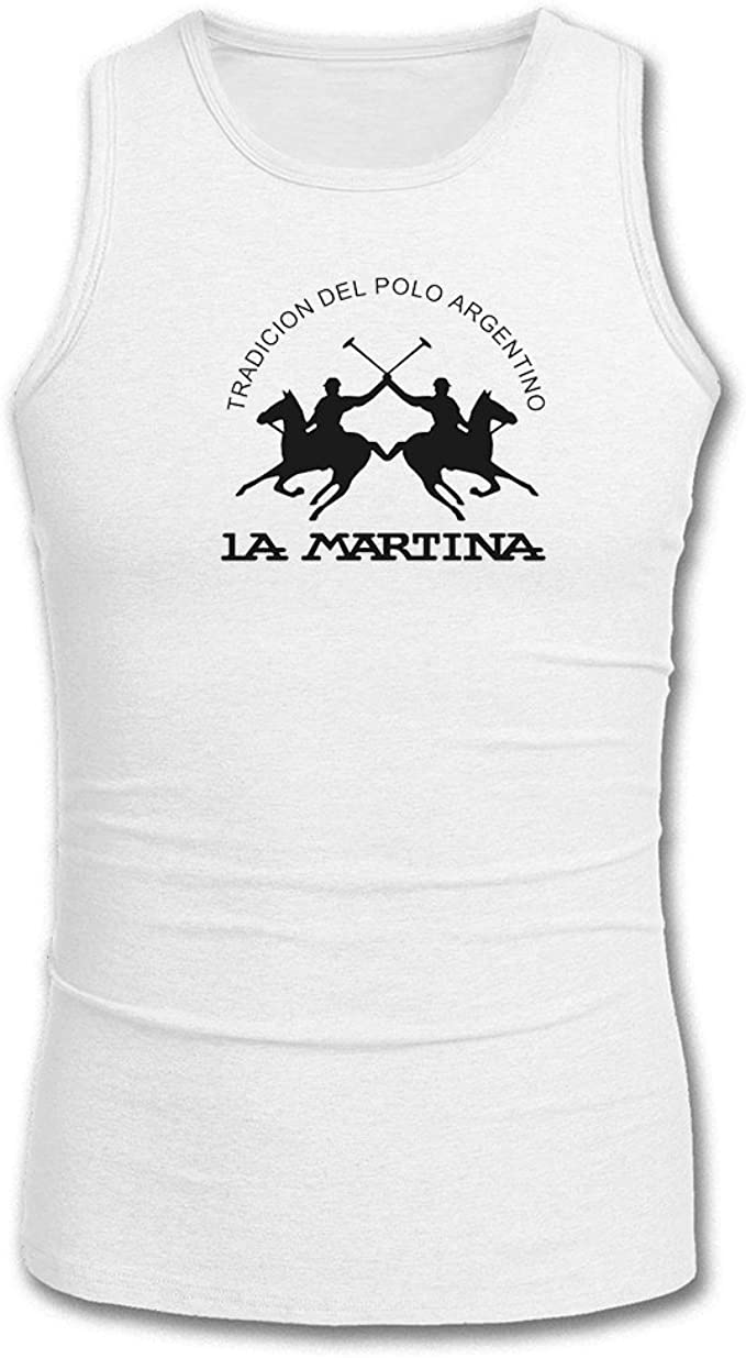 La Martina 2016 for Mens Printed Tanks Tops Sleeveless T-Shirts