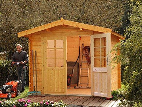 Wolff Finnhaus Gartenhaus Bibertal 28-XS