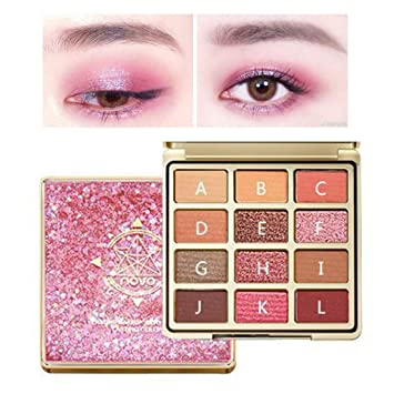Beauty & Health Beauty Essentials New Hot Popular 12 Color Marble Eyeshadow Palette Professional Fashion Makeup Eye Shadow Palette Cosmetic Set Eye Shadow Beauty