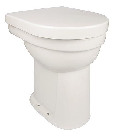 Stand Wc Set Lidano 10 Cm Erhohtes Wc Weiss Inklusive Wc Sitz