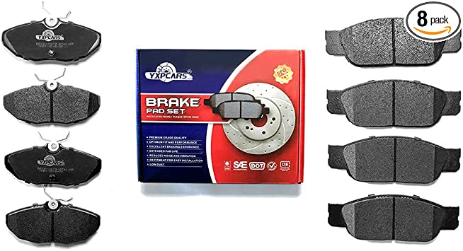 Front Brake Pads For Ford Thunderbird 2002 to 2005 Lincoln LS 2000 to 2006