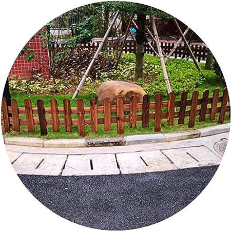 YYFANG Valla Madera Jardín Grueso Al Aire Libre Decoración De Jardín Cerca Resistente A La Corrosión Plantas Protectoras del Proceso, 4 Tamaños (Color : Brown, Size : 103x60/90cm): Amazon.es: Hogar