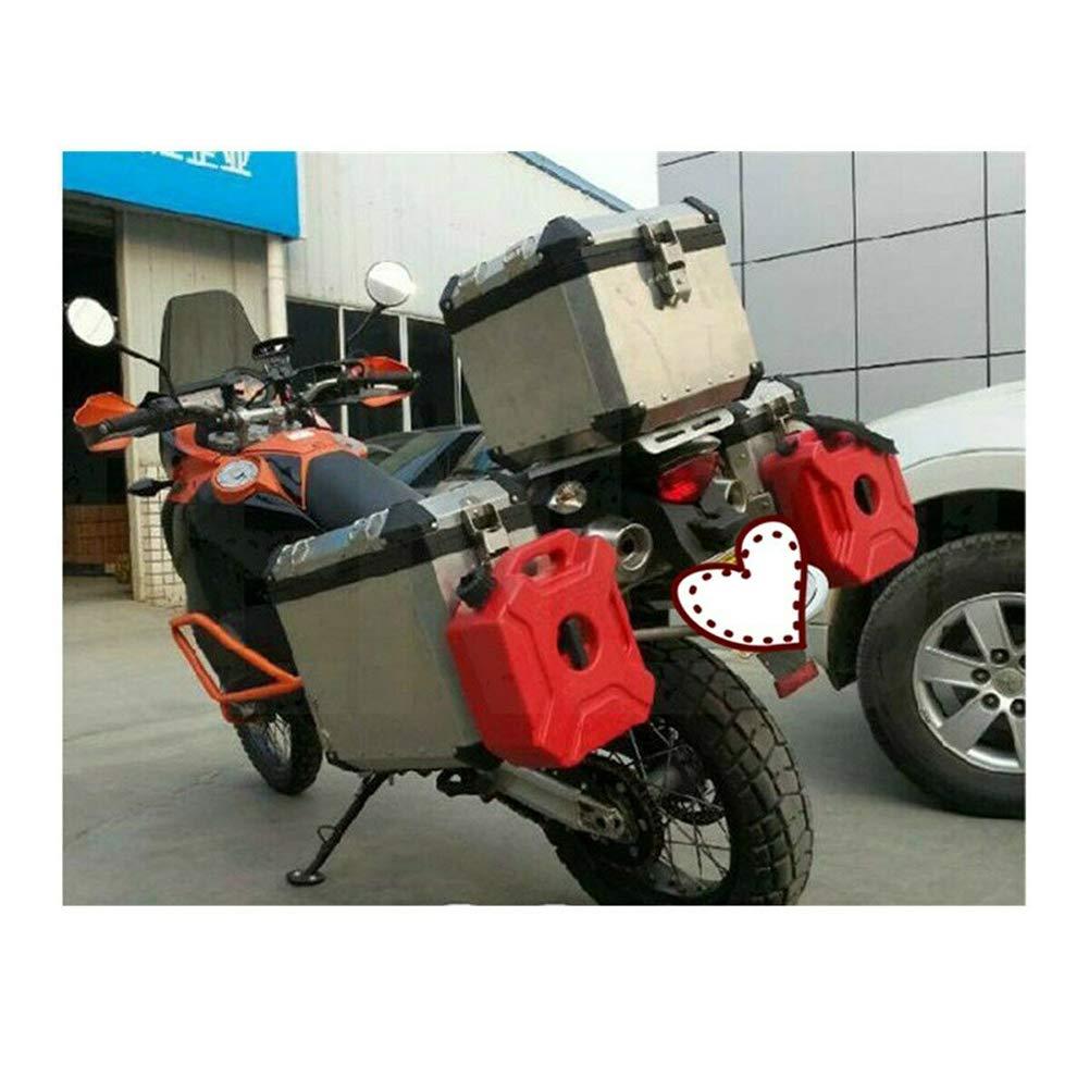 LZDseller01 Portable Fuel Tanks,Very Handy Petrol Tank Motorcycle Car Plastic Portable Jerry Can Gas Fuel Tank,3L